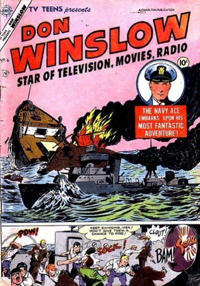 Cover for TV Teens (Charlton, 1954 series) #6
