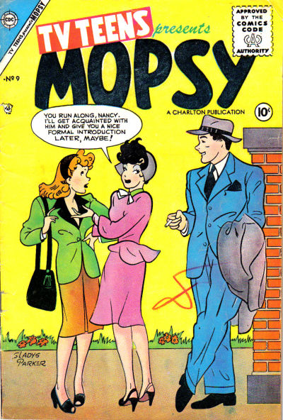 Cover for TV Teens (Charlton, 1954 series) #9