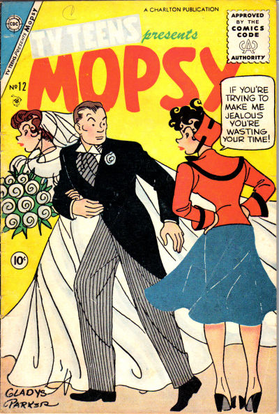 Cover for TV Teens (Charlton, 1954 series) #12