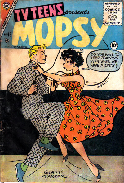 Cover for TV Teens (Charlton, 1954 series) #13