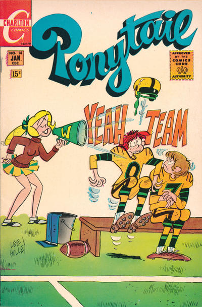 Cover for Ponytail (Charlton, 1969 series) #14