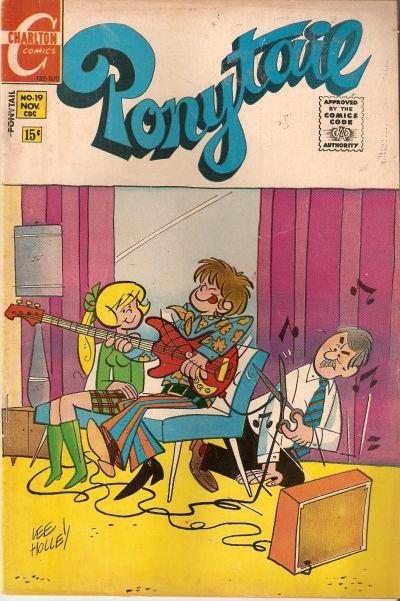 Cover for Ponytail (Charlton, 1969 series) #19