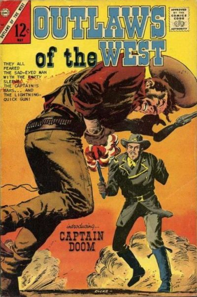 Cover for Outlaws of the West (Charlton, 1957 series) #64
