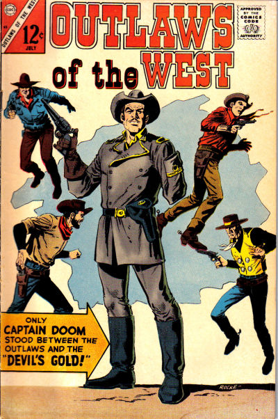 Cover for Outlaws of the West (Charlton, 1957 series) #65