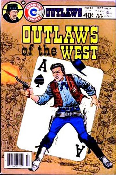 Cover for Outlaws of the West (Charlton, 1979 series) #84