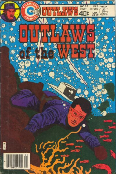 Cover for Outlaws of the West (Charlton, 1979 series) #87
