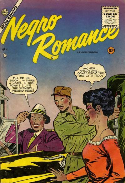Cover for Negro Romance (Charlton, 1955 series) #4