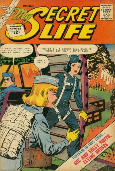 Cover for My Secret Life (Charlton, 1957 series) #47