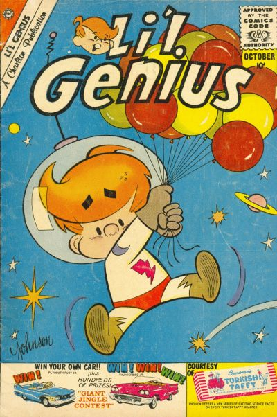 Cover for Li'l Genius (Charlton, 1954 series) #29