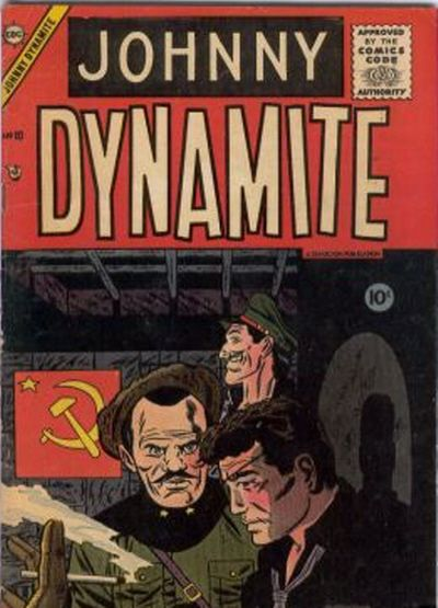 Cover for Johnny Dynamite (Charlton, 1955 series) #10