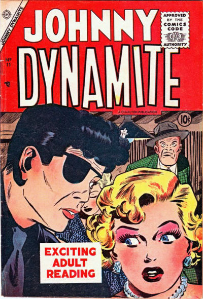 Cover for Johnny Dynamite (Charlton, 1955 series) #11