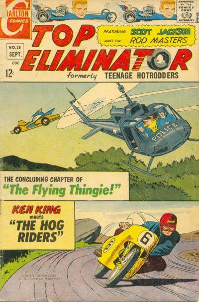 Cover for Top Eliminator (Charlton, 1967 series) #25