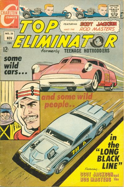 Cover for Top Eliminator (Charlton, 1967 series) #26