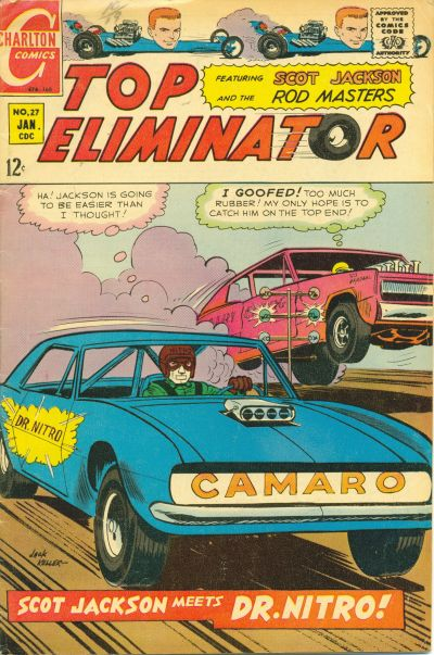 Cover for Top Eliminator (Charlton, 1967 series) #27