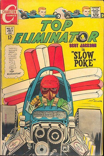 Cover for Top Eliminator (Charlton, 1967 series) #29