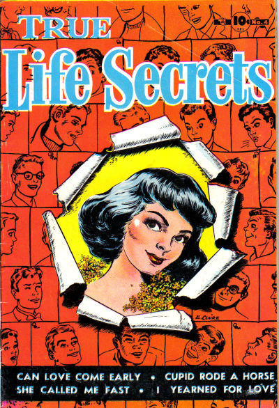 Cover for True Life Secrets (Charlton, 1951 series) #4