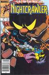 Cover for Nightcrawler (Marvel, 1985 series) #3 [Canadian]