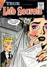 Cover Thumbnail for True Life Secrets (Charlton, 1951 series) #27