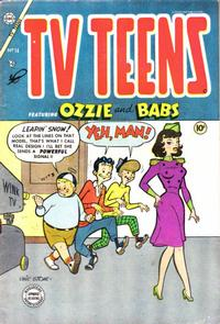 Cover Thumbnail for TV Teens (Charlton, 1954 series) #14 [1]
