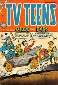 Cover Thumbnail for TV Teens (Charlton, 1954 series) #15 [2]
