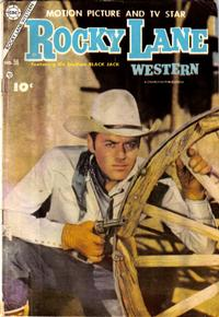 Cover Thumbnail for Rocky Lane Western (Charlton, 1954 series) #56