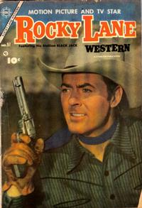 Cover Thumbnail for Rocky Lane Western (Charlton, 1954 series) #57