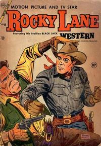 Cover Thumbnail for Rocky Lane Western (Charlton, 1954 series) #59