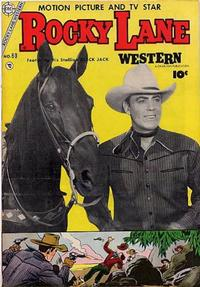 Cover Thumbnail for Rocky Lane Western (Charlton, 1954 series) #60