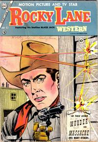Cover Thumbnail for Rocky Lane Western (Charlton, 1954 series) #62