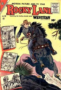 Cover Thumbnail for Rocky Lane Western (Charlton, 1954 series) #68