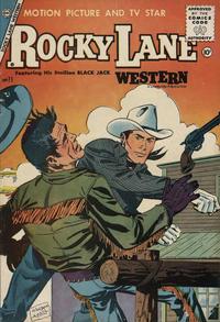 Cover Thumbnail for Rocky Lane Western (Charlton, 1954 series) #71