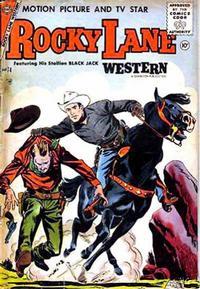 Cover Thumbnail for Rocky Lane Western (Charlton, 1954 series) #74