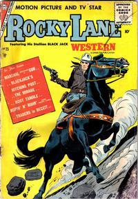 Cover Thumbnail for Rocky Lane Western (Charlton, 1954 series) #75