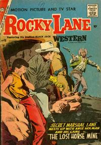 Cover Thumbnail for Rocky Lane Western (Charlton, 1954 series) #76
