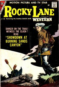 Cover Thumbnail for Rocky Lane Western (Charlton, 1954 series) #78