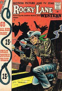 Cover Thumbnail for Rocky Lane Western (Charlton, 1954 series) #79
