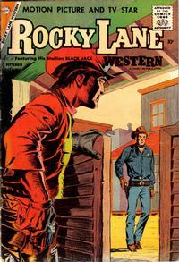 Cover Thumbnail for Rocky Lane Western (Charlton, 1954 series) #81