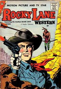 Cover Thumbnail for Rocky Lane Western (Charlton, 1954 series) #82