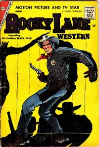 Cover Thumbnail for Rocky Lane Western (Charlton, 1954 series) #83