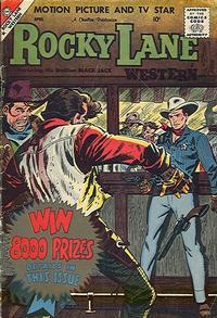 Cover Thumbnail for Rocky Lane Western (Charlton, 1954 series) #84