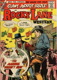 Cover Thumbnail for Rocky Lane Western (Charlton, 1954 series) #85