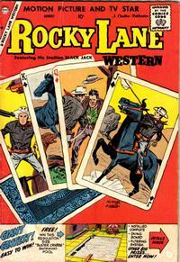 Cover Thumbnail for Rocky Lane Western (Charlton, 1954 series) #86