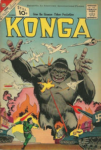 Cover Thumbnail for Konga (Charlton, 1960 series) #4