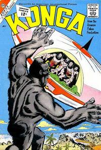 Cover Thumbnail for Konga (Charlton, 1960 series) #7