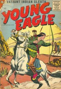 Cover Thumbnail for Young Eagle (Charlton, 1956 series) #3