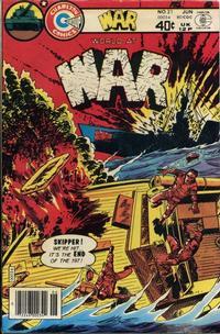Cover Thumbnail for War (Charlton, 1975 series) #21