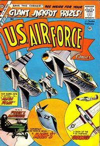 Cover Thumbnail for U.S. Air Force Comics (Charlton, 1958 series) #4