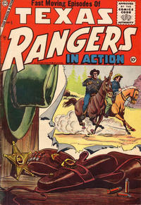 Cover Thumbnail for Texas Rangers in Action (Charlton, 1956 series) #5