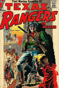 Cover Thumbnail for Texas Rangers in Action (Charlton, 1956 series) #13