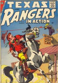 Cover Thumbnail for Texas Rangers in Action (Charlton, 1956 series) #14